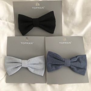 Bundle of 3 Clip on Bow ties
